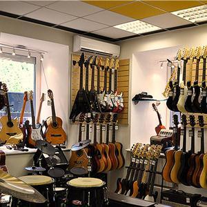Музыкальные магазины Щекино